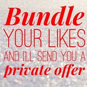 Other - Bundle 3 or more items for deals!